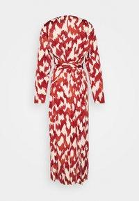 Lindex - DRESS ABIGAIL - Robe d'été - dusty red - 1