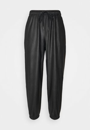 PCGALINA PANTS - Trousers - black
