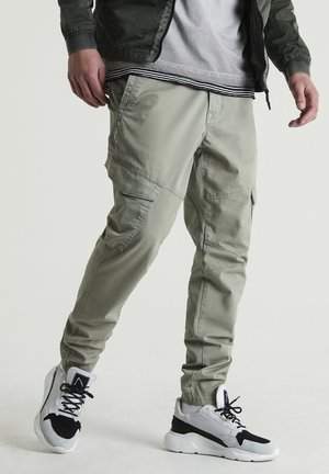 L VISTA - Cargo trousers - green