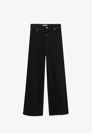 CASILDA - Flared Jeans - black denim