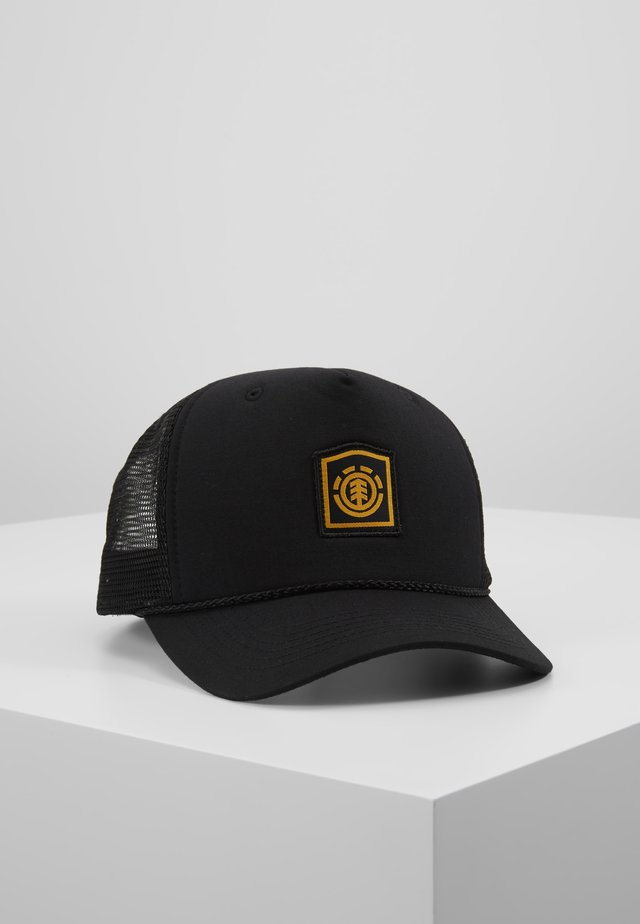 WOLFEBORO TRUCKER - Cap - flint black
