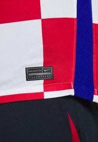 Nike Performance - KROATIEN CRO - Vereinsmannschaften - white/university red/bright blue - 5