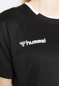 Hummel - HMLAUTHENTIC  - Print T-shirt - black/white - 5