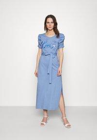 Liu Jo Jeans - ABITO UNITA - Jersey dress - bright blue wave - 0