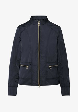 Faux leather jacket - gothic blue