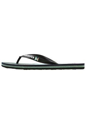 MOLOKAI TROPICAL FLOW  - T-bar sandals - black/green/black