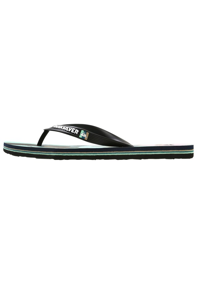 MOLOKAI TROPICAL FLOW  - Japonki - black/green/black