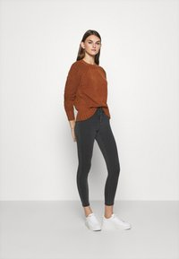 ONLY - ONLRAIN REG ETERNAL - Skinny džíny - grey denim - 1