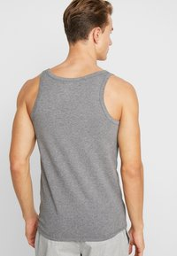 Diesel - UMTK-JOHNNYTHREEPACK SINGLET 3 PACK - Undershirt - grey/black/white - 3