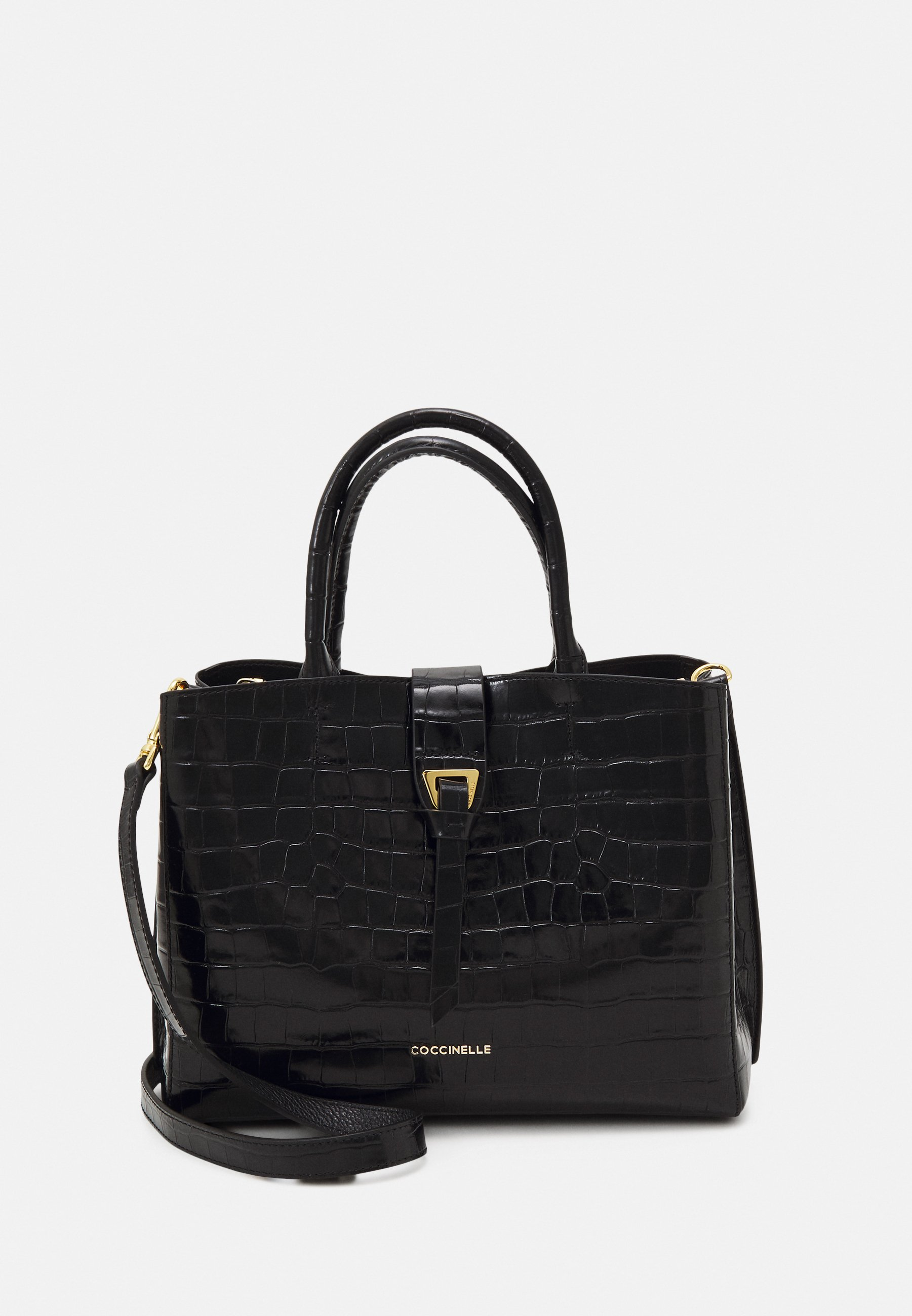 Women ALBA CROCO SHINY SOFT TOP HANDLE - Handbag