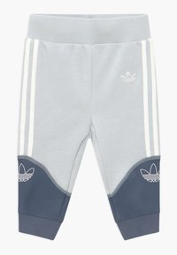 adidas Originals - OUTLINE CREW SET - Verryttelypuku - grey/white - 2