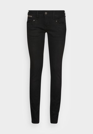 PIPER SLIM DENIM BLACK STRETCH - Jeans slim fit - tempest