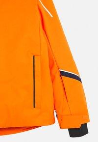 Kjus - BOYS FORMULA JACKET - Ski jacket - orange - 4