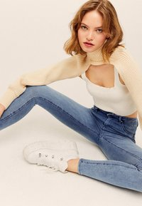 TALLY WEiJL - PUSH-UP  - Jeans Skinny Fit - blue denim - 4