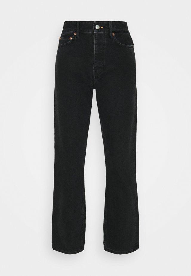 PEARL  - Straight leg jeans - dark grey