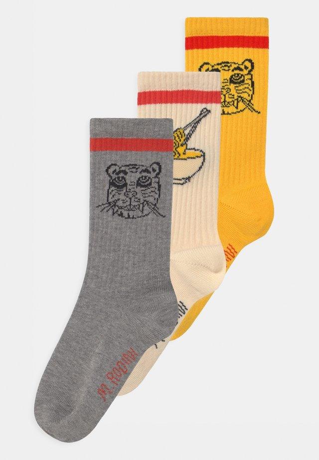 TIGER 3 PACK UNISEX - Ponožky - multi