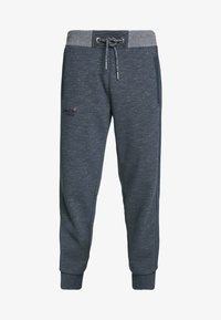 Superdry - ORANGE LABEL CLASSIC - Tracksuit bottoms - abyss navy feeder - 4
