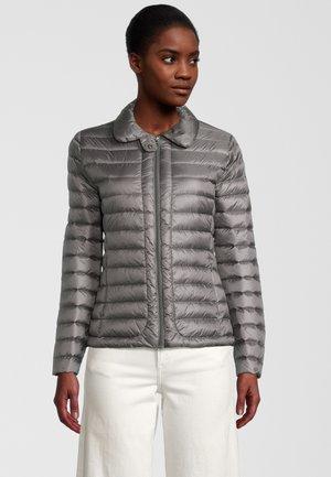 LARGE COLLAR - Down jacket - anthracite