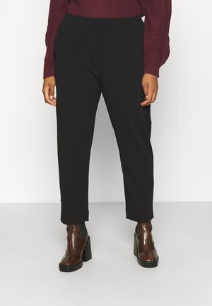 VIMARY  PANTS - Trousers - black
