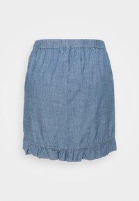 Vero Moda - VMAKELA FLOUNCE - Minifalda - medium blue - 1