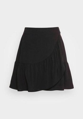 SKIRT HILDA - Miniskjørt - black
