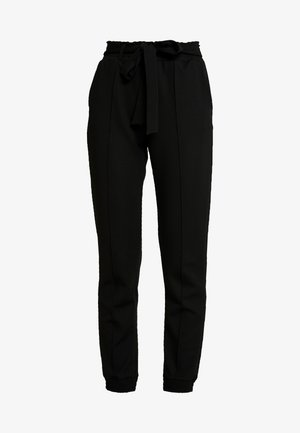 INES TROUSERS - Trousers - black