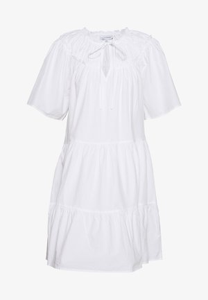 SMOCK MINI - Day dress - white