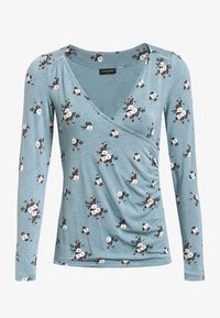 Vive Maria - WAITING FOR YOU - Long sleeved top - blau allover - 4