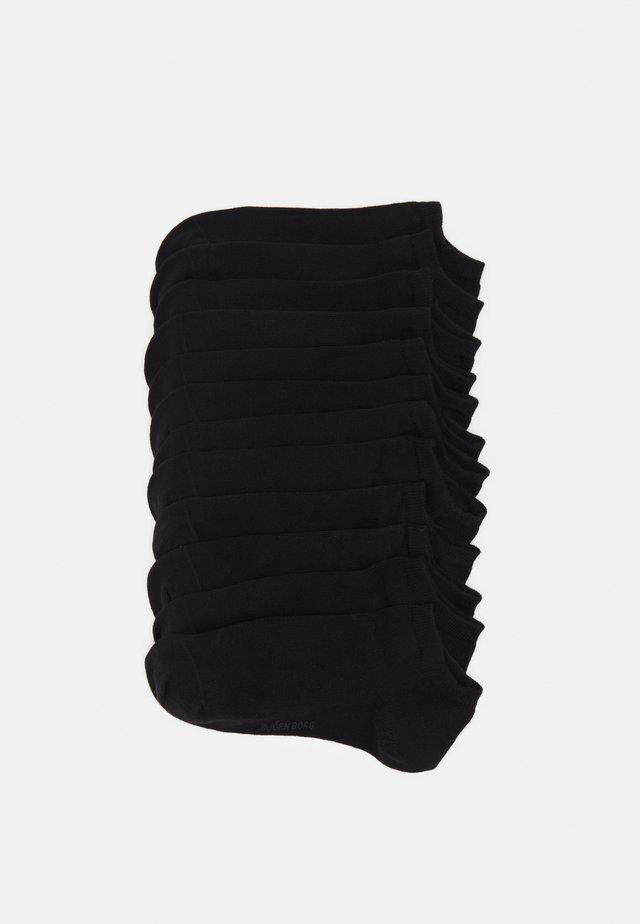 SOCK STEP SOLID 12 PACK - Sukat - black