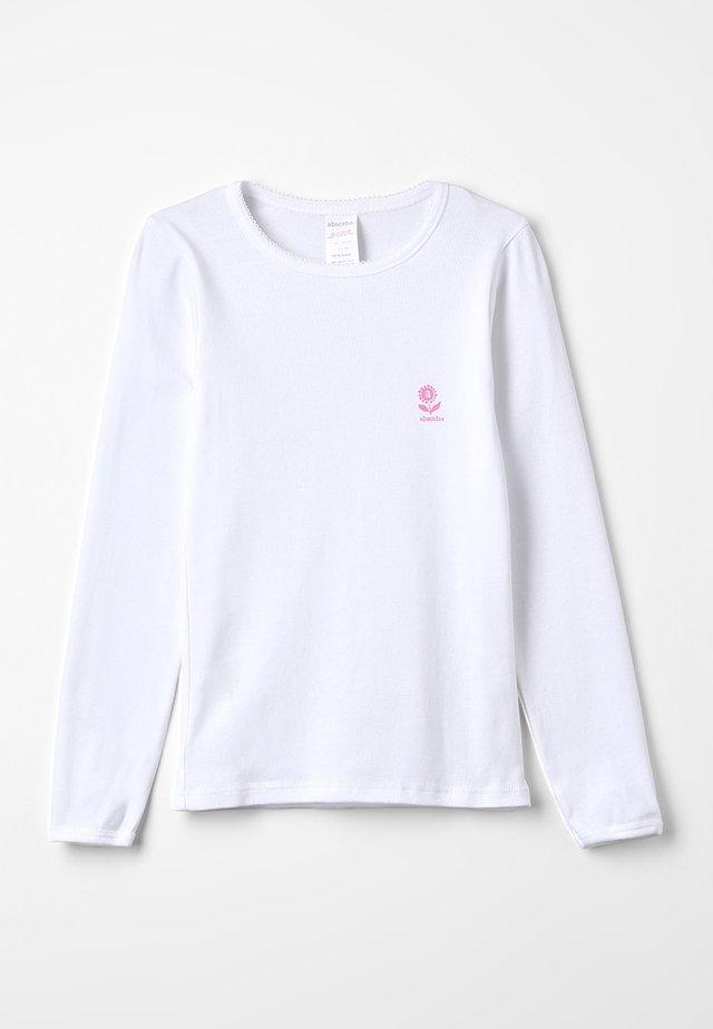 BASIC BIO MARGUERITE - Undershirt - blanc