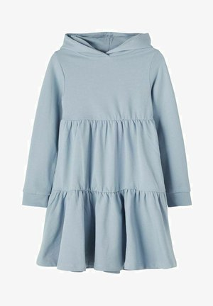 Day dress - dusty blue