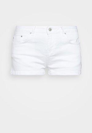 JUDIE - Jeansshorts - white