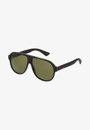 Sluneční brýle - black/black/green