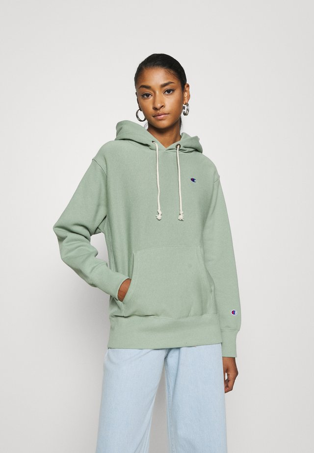 HOODED - Sweat à capuche - green