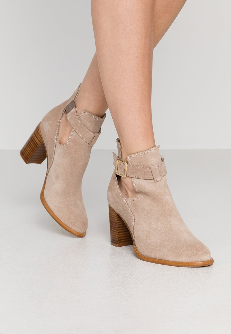 Zign - Ankle boots - beige