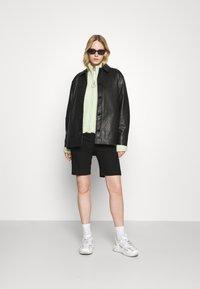 Holzweiler - FLORA JACKET  - Leather jacket - black - 1