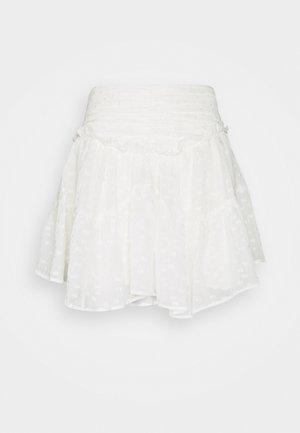 NIXIE - Mini skirt - ecru