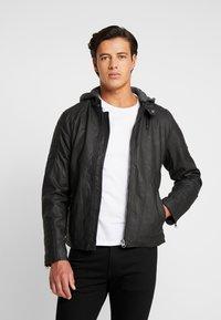 INDICODE JEANS - CHENIES - Faux leather jacket - black - 2