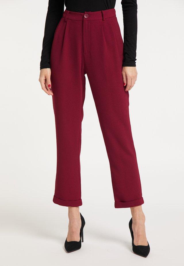 Pantaloni - dunkelrot