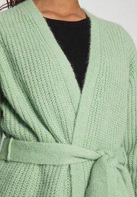 EDITED - ANNIKA CARDIGAN - Cardigan - mistletoe green - 4