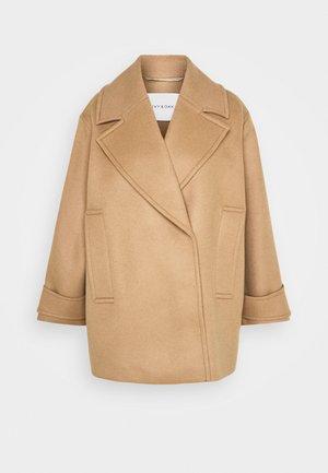 EGG SHAPED COAT - Zimní kabát - camel