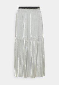 JDY - JDYSTONE PLISSE SKIRT - A-line skirt - silver - 0
