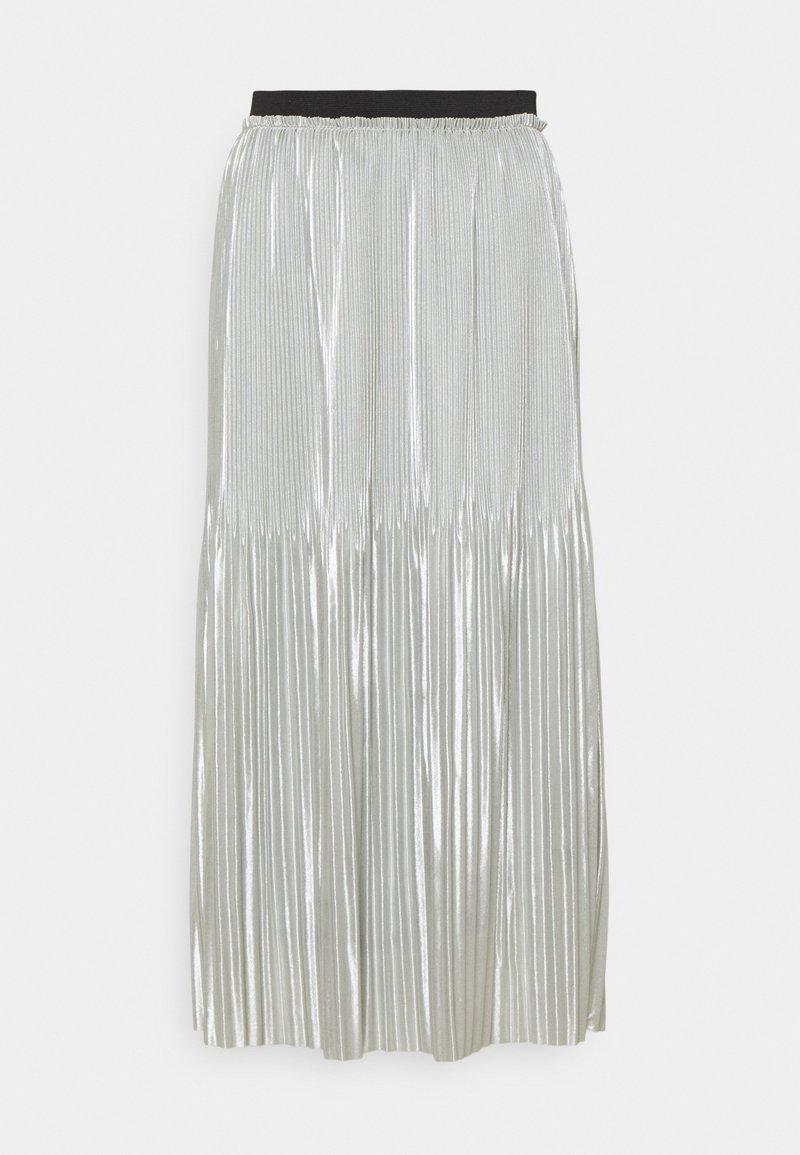 JDY - JDYSTONE PLISSE SKIRT - A-line skirt - silver