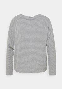 ONLY - ONLNAJA BATSLEEVE - Strickpullover - medium grey melange - 0
