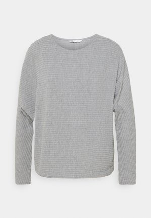 ONLNAJA BATSLEEVE - Strikkegenser - medium grey melange