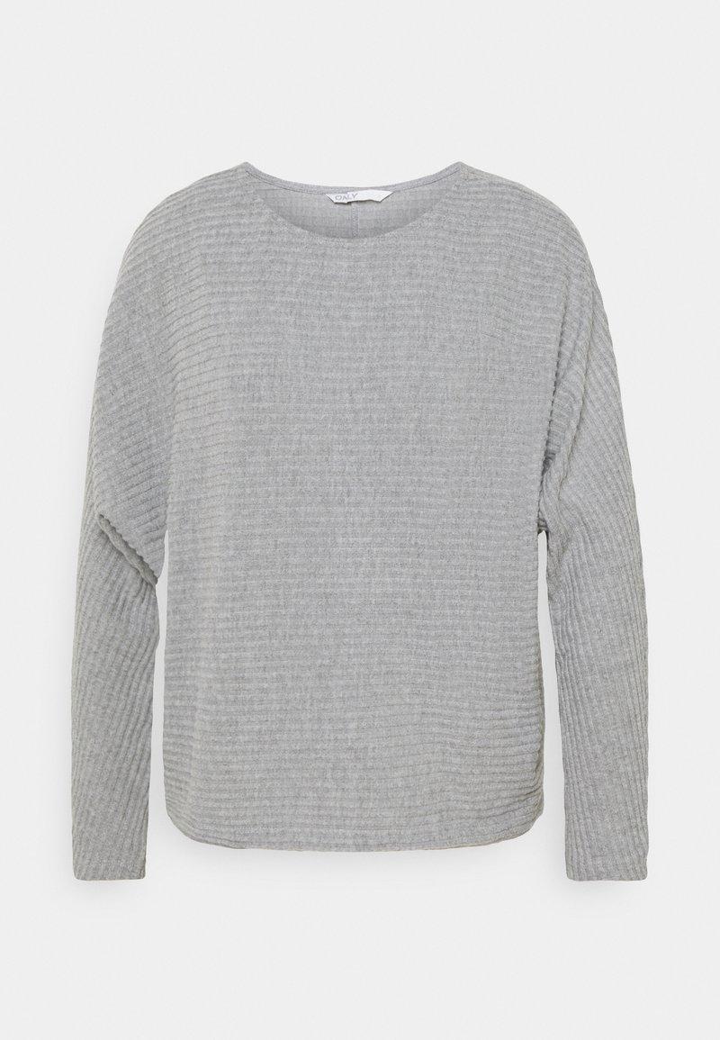 ONLY - ONLNAJA BATSLEEVE - Jumper - medium grey melange