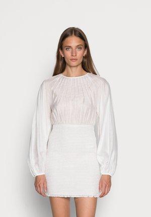 EMBRACED DRESS - Day dress - white