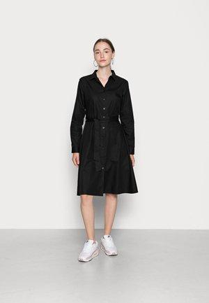 SARAH - Shirt dress - black