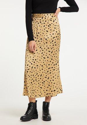 A-line skirt - gold