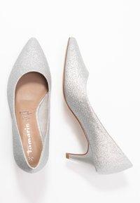 Tamaris - COURT SHOE - Classic heels - silver glam - 3